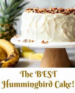 Humningbird Cake